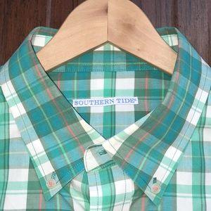 Southern Tide Men's Button Down Shirt Size XXL